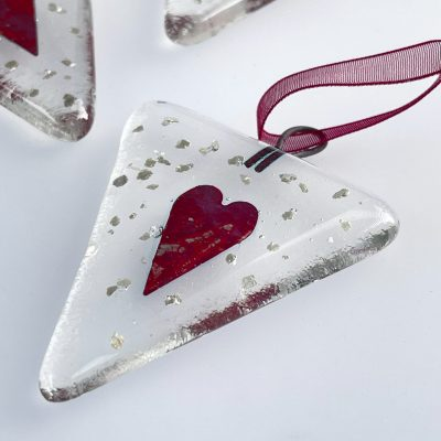 Gift shop –Bunting heart red