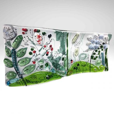 Free standing wave panel flora